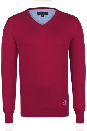 Пуловер Sir Raymond Tailor. Цвет: красный
