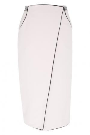 Юбка с запáхом VIKTORIA IRBAIEVA. Цвет: розовый