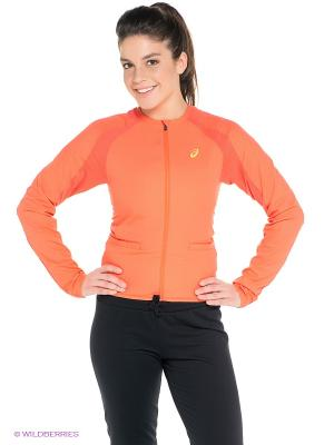 Куртка Athlete Track Jacket ASICS. Цвет: оранжевый