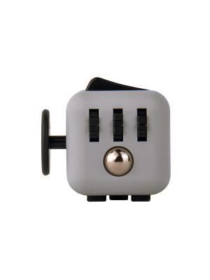 Игрушка антистресс Fidget Cube, ретро Neocube. Цвет: серый