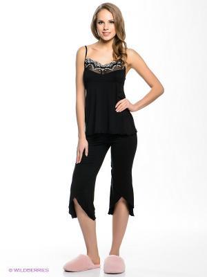 Пижама Amante. Цвет: черный