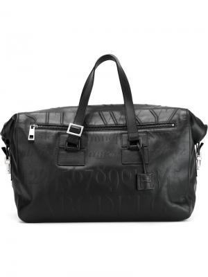 Дорожная сумка Didot Assouline. Цвет: чёрный