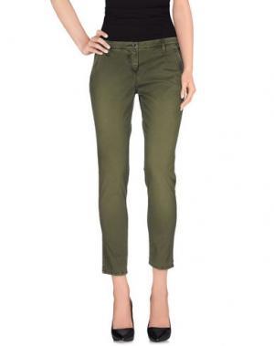 Повседневные брюки NICWAVE. Цвет: зеленый-милитари
