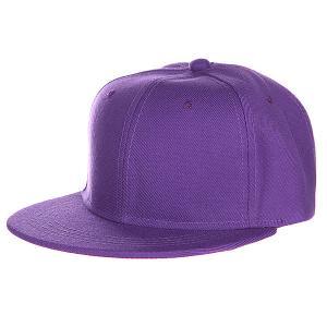 Бейсболка  Blank Snapback, Purple, O/S TrueSpin. Цвет: фиолетовый