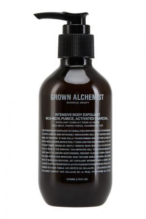 Интенсивный эксфолиант для тела «Инка инчи, пемза и активированный уголь» 200ml Grown Alchemist. Цвет: multicolor