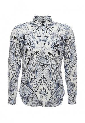 Рубашка Just Cavalli. Цвет: синий