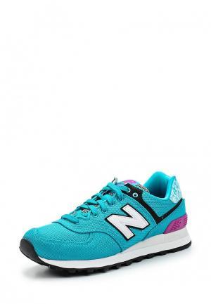 Кроссовки New Balance. Цвет: бирюзовый