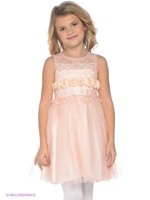 Платье ERKUT. Цвет: бледно-розовый