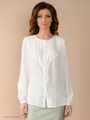 Блузка PALLARI. Цвет: белый