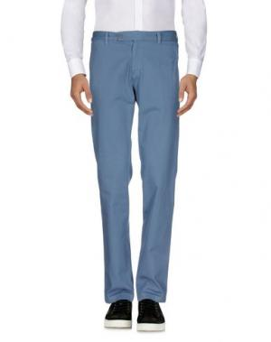 Повседневные брюки PANAMA. Цвет: грифельно-синий
