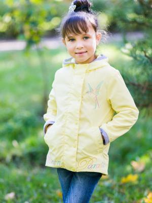 Ветровка Колибри Аксарт. Цвет: желтый