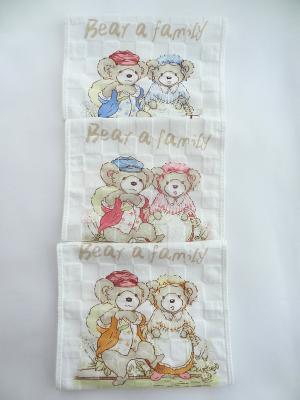 Набор полотенец A and C Collection. Цвет: бежевый, белый