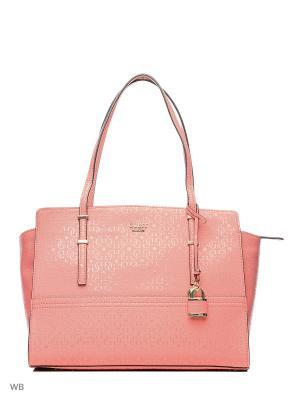 Сумка GUESS. Цвет: розовый