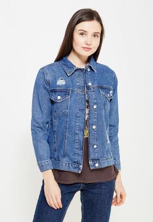 Куртка джинсовая Dorothy Perkins. Цвет: синий