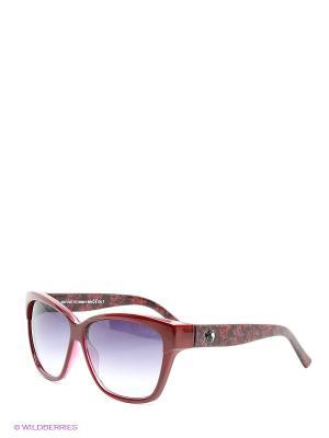 Солнцезащитные очки Franco Sordelli. Цвет: темно-красный