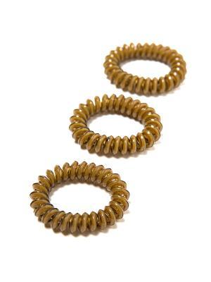 Резинка-браслет для волос Mitya Veselkov. Цвет: темно-коричневый