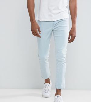 Brooklyn Supply Co. Голубые зауженные джинсы Co. Цвет: синий