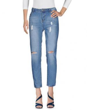 Джинсовые брюки SCOUT. Цвет: синий