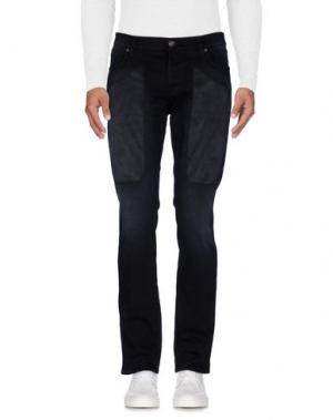 Джинсовые брюки JECKERSON. Цвет: черный
