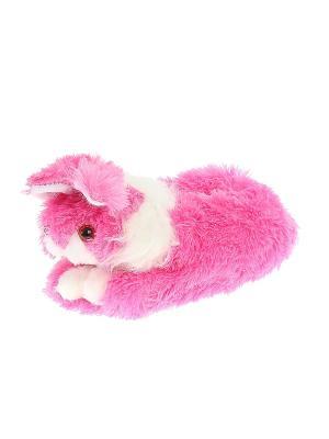 Тапочки домашние Migura. Цвет: розовый, белый, красный