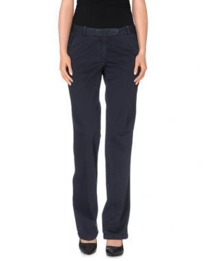 Повседневные брюки QCQC. Цвет: темно-синий