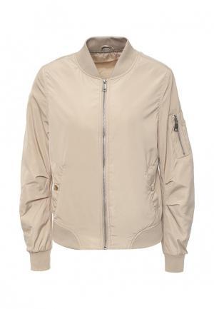 Куртка B.Style. Цвет: бежевый