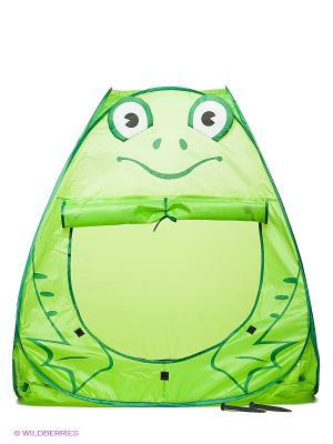 Палатка игровая Лягушонок Наша Игрушка. Цвет: салатовый