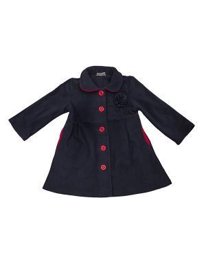 Пальто флисовое летнее МИКИТА. Цвет: темно-синий, красный