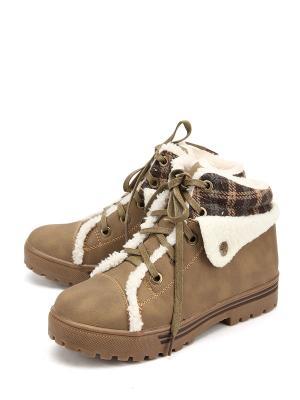 Ботинки Avery. Цвет: хаки
