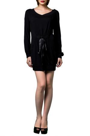 Платье JOELLE JO'ELLE. Цвет: черный