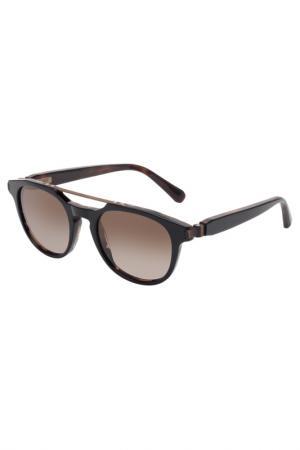 Солнцезащитные очки Brioni. Цвет: 002