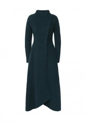 Пальто Grand Style. Цвет: зеленый