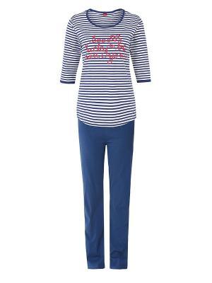 Пижама S.OLIVER. Цвет: темно-синий