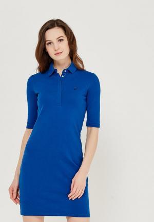 Платье Lacoste. Цвет: синий