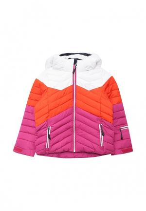 Куртка утепленная FIVE seasons. Цвет: разноцветный