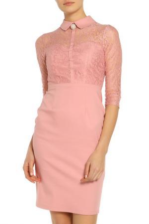 Платье PAPER DOLLS. Цвет: розовый
