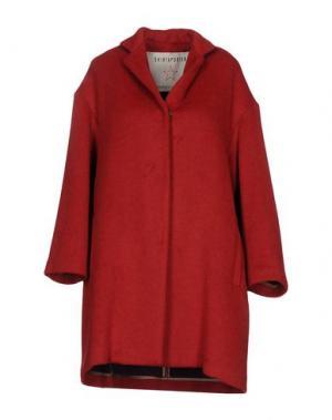 Пальто SHIRTAPORTER. Цвет: красный