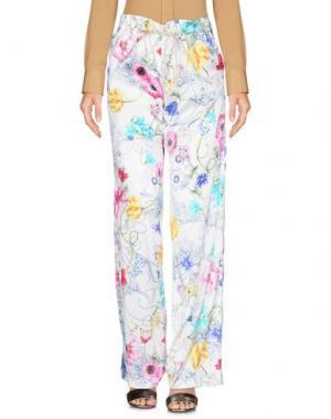 Повседневные брюки COLOMBO. Цвет: белый