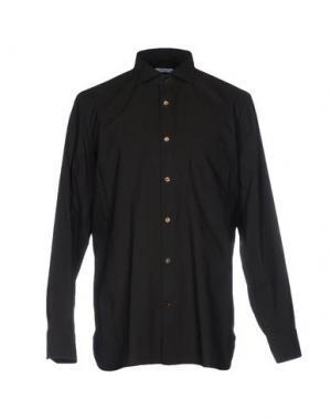 Pубашка GIAMPAOLO. Цвет: темно-зеленый