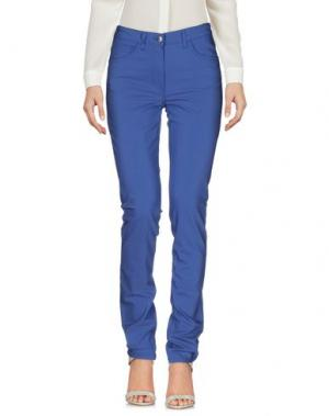 Повседневные брюки BARONI. Цвет: синий