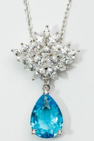 Кулон FRANSUA ARDY. Цвет: голубой