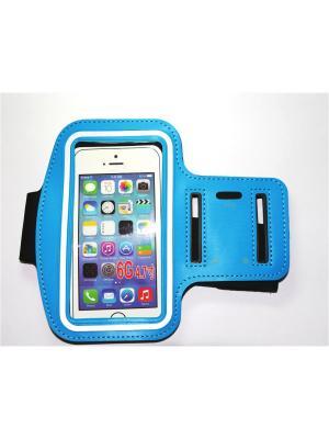 Чехол для Iphone 6/ 6S с креплением на руку Punta. Цвет: голубой
