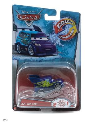 Машинка из серии Disney Cars Mattel. Цвет: салатовый, голубой, лиловый, красный