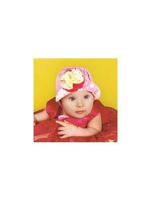 Шляпа DEMBOHOUSE. Цвет: розовый