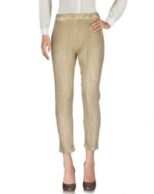 Повседневные брюки MES DEMOISELLES. Цвет: песочный