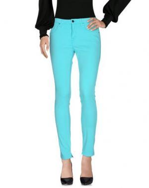 Повседневные брюки SFIZIO. Цвет: изумрудно-зеленый