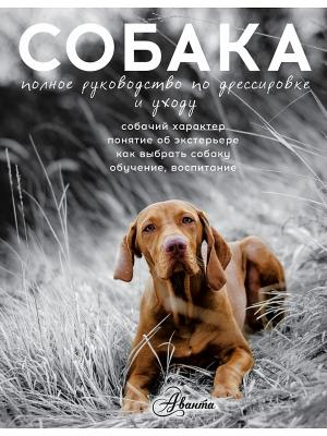 Собака. Полное руководство по дрессировке и уходу Издательство АСТ. Цвет: белый