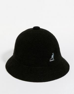 Kangol Повседневная шляпа Bermuda. Цвет: черный