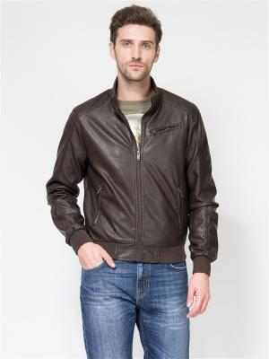 Куртка TOM FARR. Цвет: темно-коричневый