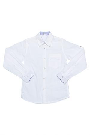 Рубашка Dodipetto. Цвет: белый